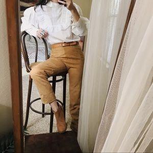 Pants - Vintage suede high waisted desert dream pants